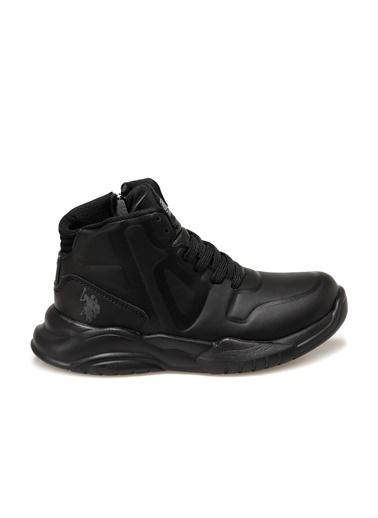 U.S. Polo Assn. Robinson Erkek Çocuk Sneaker Ayakkabı Siyah